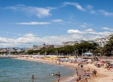 Public Beaches on the Croisette