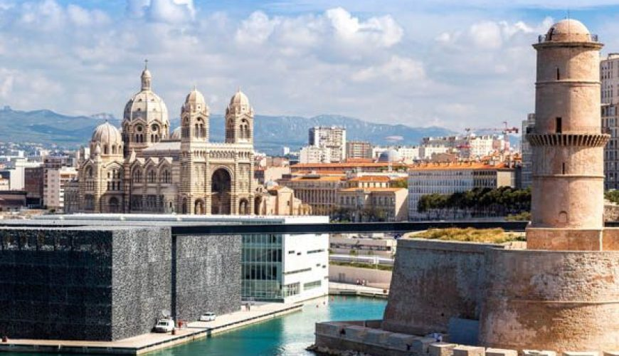 Marseille: Mucem and Fort Saint Jean