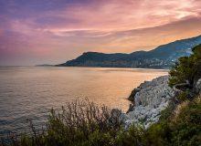Menton to Monaco coastal path