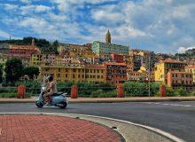 Trip from Menton to Ventimiglia